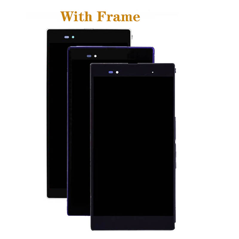 Image 5 - 6.44'' Original Display For SONY Xperia Z Ultra LCD Touch Screen Digitizer for SONY Xperia Z Ultra XL39H C6833 LCD repair Parts-in Mobile Phone LCD Screens from Cellphones & Telecommunications
