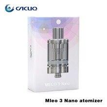 Original Eleaf Melo 3 Nano Atomizador 2 ml con ECML 0.75ohm cabeza EC 0.3ohm cabeza de Llenado Superior ajuste Eleaf Eléctrica Stick Nano