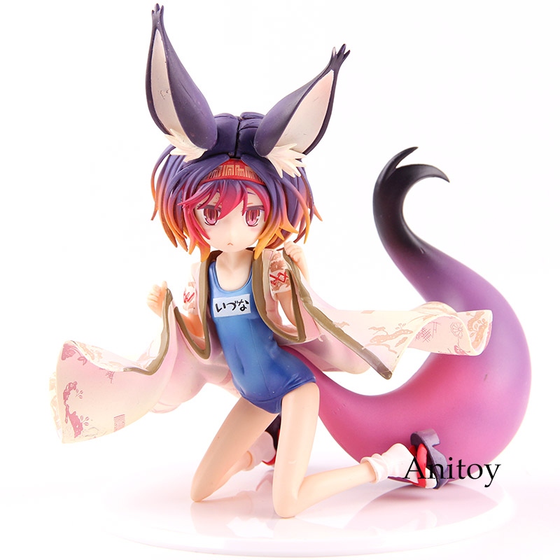 Anime No Game No Life Shiro 1/7 Scale Pvc Figure Collectible Model Toy Action & Toy Figures
