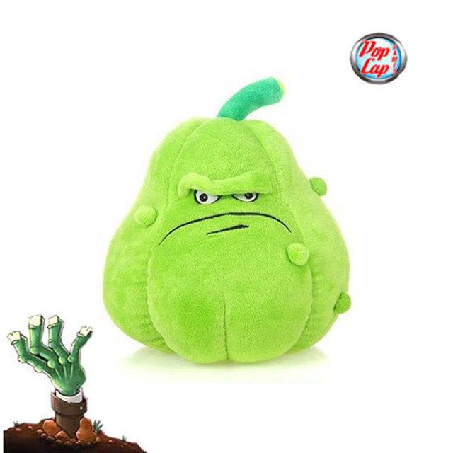 Estrela 12 polegada 30 cm linda planta Vs Zombies PopCap abóbora brinquedos de pelúcia, 1 unidades/pacote