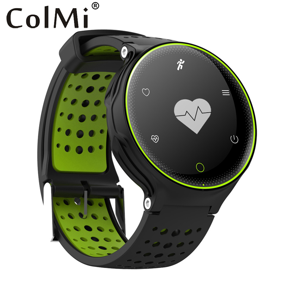 ColMi Smart Watch VS509 Heart Rate Monitor Blood Pressure Monitor IP68 Waterproof Long Time Standby Call Message Notification wireless service call bell system popular in restaurant ce passed 433 92mhz full equipment watch pager 1 watch 7 call button