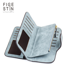 Фотография Figestin High Quality Design Envelope Womens Wallets And Purses Long Creative Female Card Holder PU Leather Wallet Women Clutch