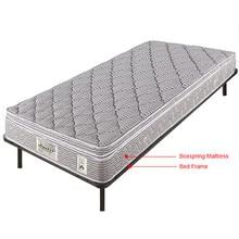 Twin Size Wood Slats Metal Bed Frame