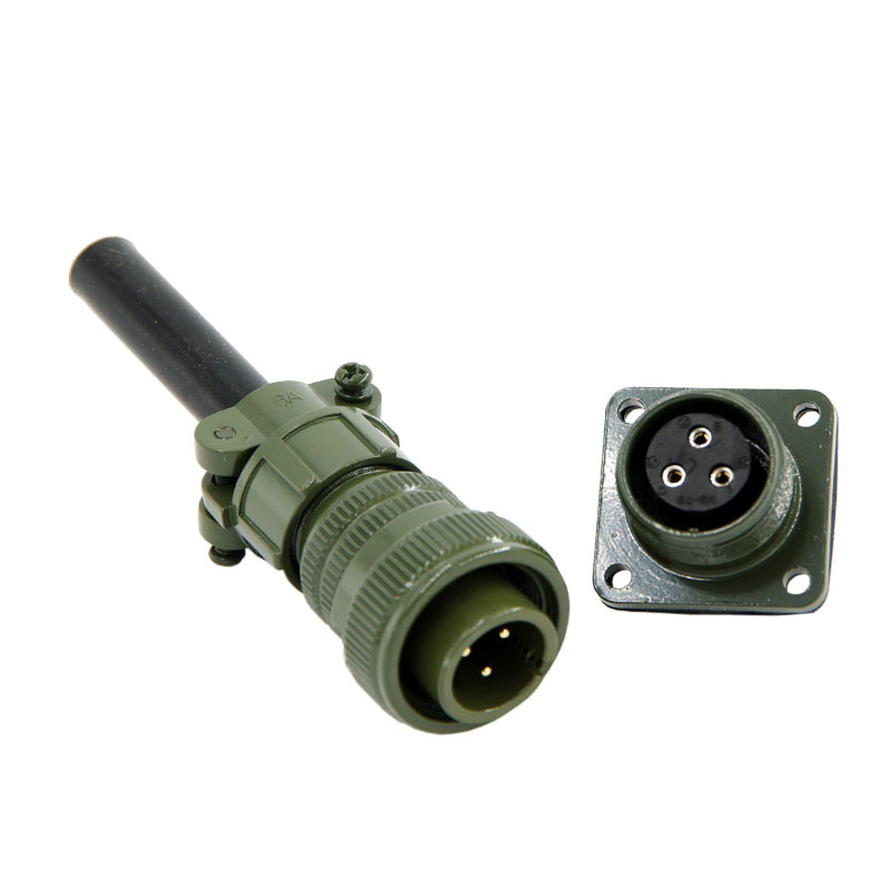 Military standard connector 3 pins 5015 connector MS3106 3102 14S-7p Servo motor connector