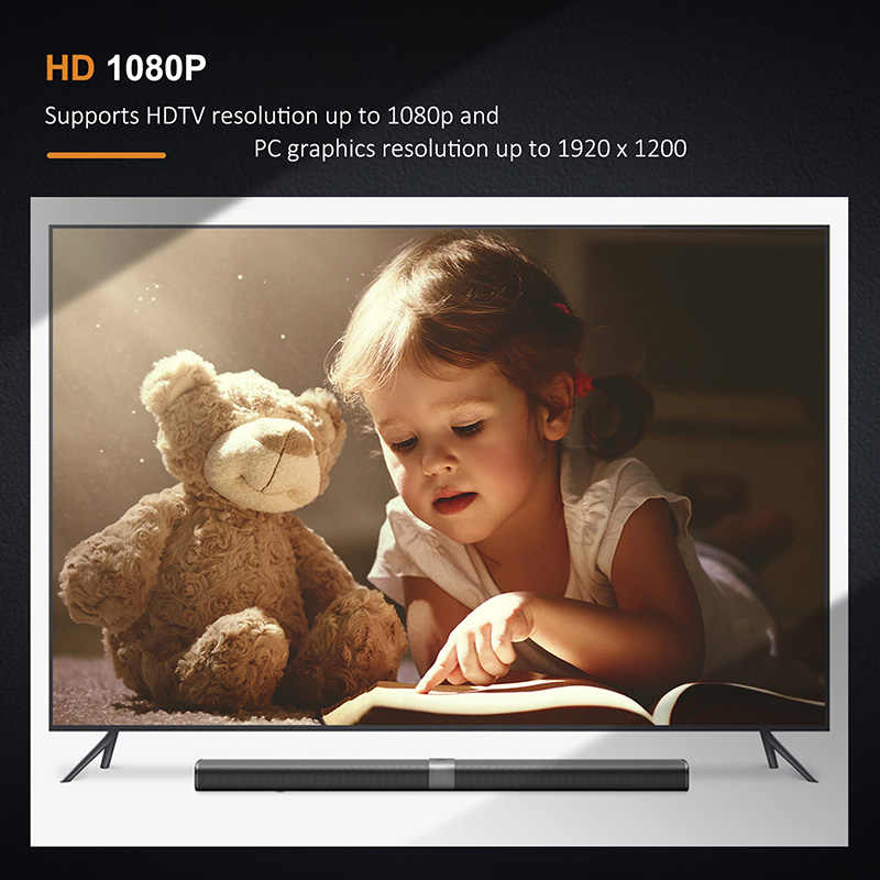 Cabletime جديد منفذ عرض صغير إلى محول HDMI متر/F 1080P Thunderbolt DP محول ل كمبيوتر صغير هوائي ماك بوك برو iMac العارض C090