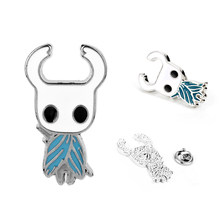 Hollow Knight Protagonist Brooch Pin Game Jewelry Brooches Enamel pin Men Women Accessories Gift(China)