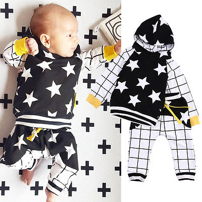 Cute-Baby-Kids-Boy-Girl-Tops-Star-Hooded-SweatshirtsPants-2pcs-Outfits-Set-Clothes-6M-3Y-5