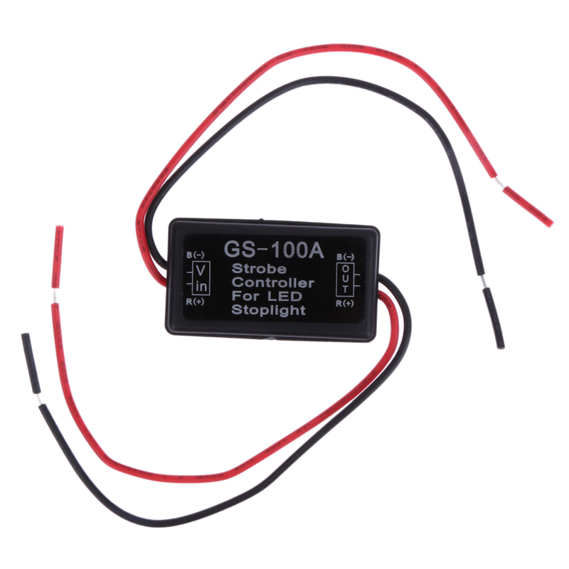 Mini size Car Vehicle Flash Strobe Controller Flasher Module for LED Brake Stop Light Lamp 12--24V dropshipping wholesale