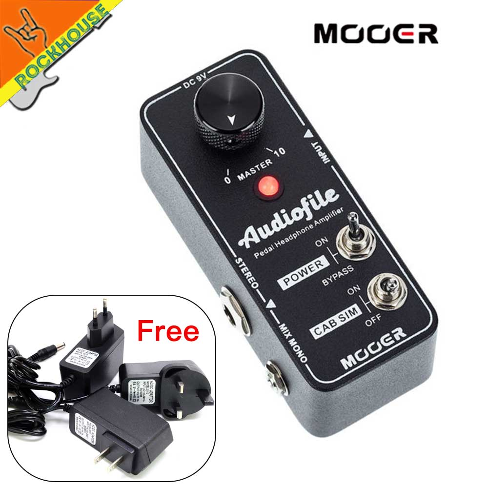 mooer audiofile amplifier pre amp guitar pedal analog class a amplification circuit with cabinet. Black Bedroom Furniture Sets. Home Design Ideas