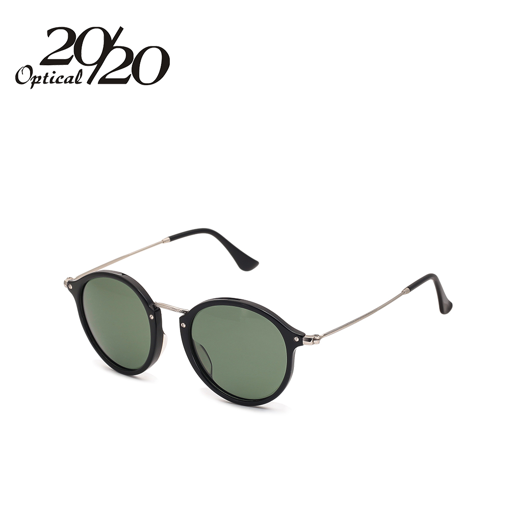 231b6d2cb0e Classic Style Women Men Sunglasses Vintage Circle Round Eyewear Polarized  Acetate Material Sun glasses Oculos Gafas -in Sunglasses from Women s  Clothing   ...