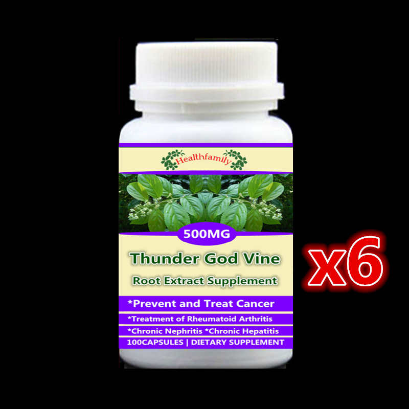 6 bottle 600pcs,Prevent and Anti cancer,Thunder God Vine Extract Lei Gong Teng,rheumatoid arthritis,chronic nephritis &hepatitis6 bottle 600pcs,Prevent and Anti cancer,Thunder God Vine Extract Lei Gong Teng,rheumatoid arthritis,chronic nephritis &hepatitis