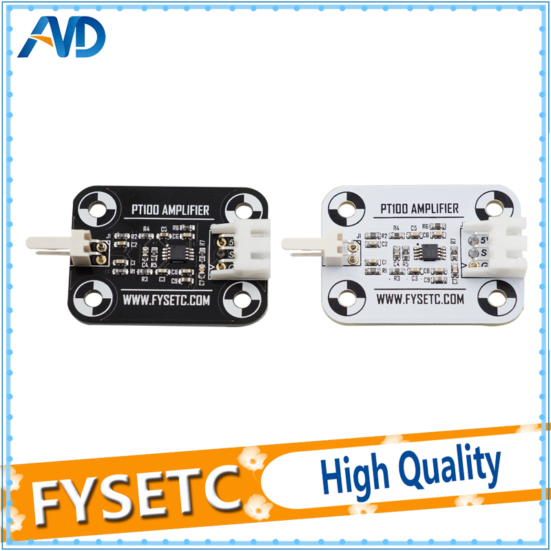 V6 PT100 Amplifier Board White/Black PT100 Sensor High Accuracy Temperature Board Upgrade Amplifier Board Reprap 3D printer Part