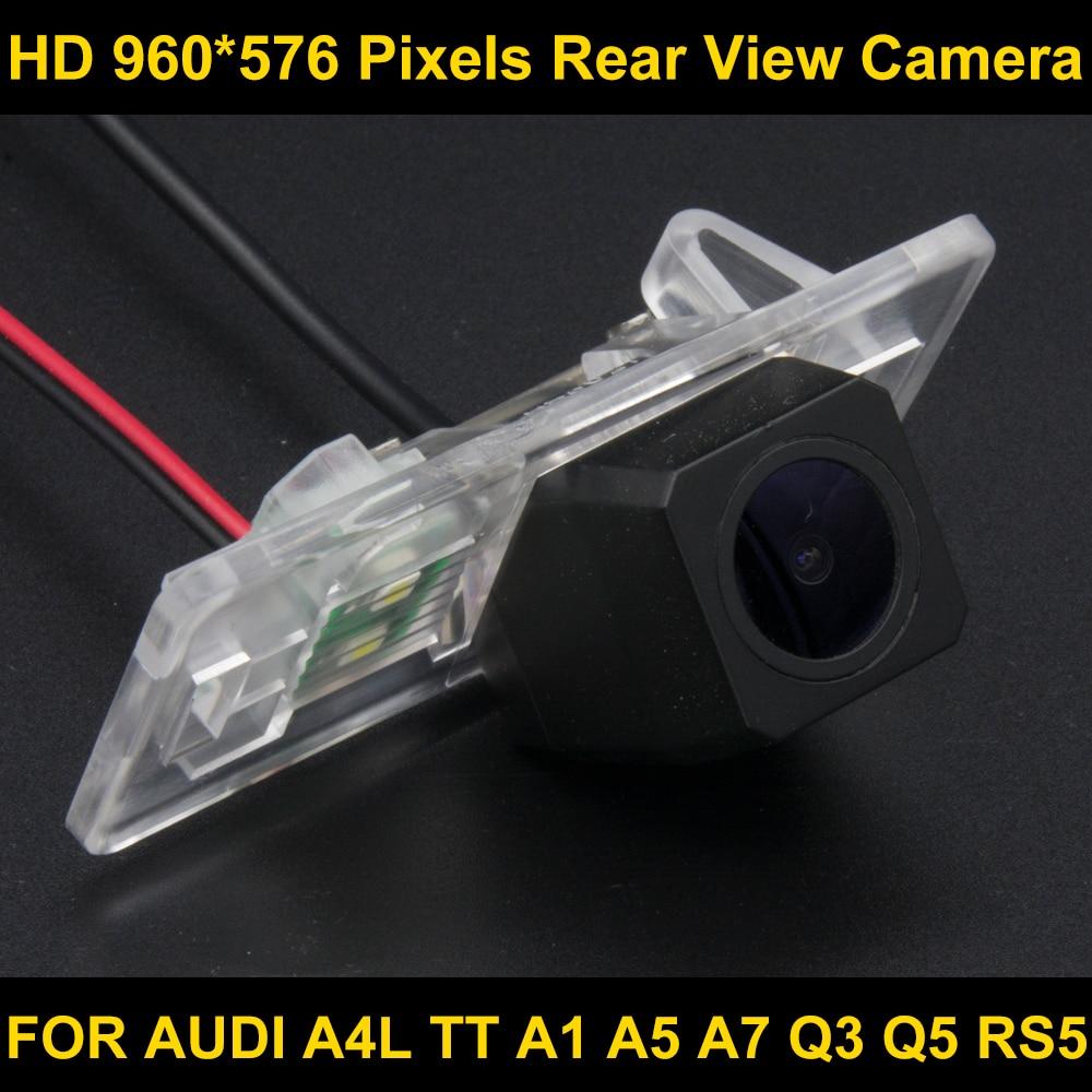 PAL HD 960*576 Pixels Car Parking Rear view Camera for FOR Audi A1 2011 2012 2013 2014 <font><b>A3</b></font> 2014 2015 A4L 2009 2010 2011 2012