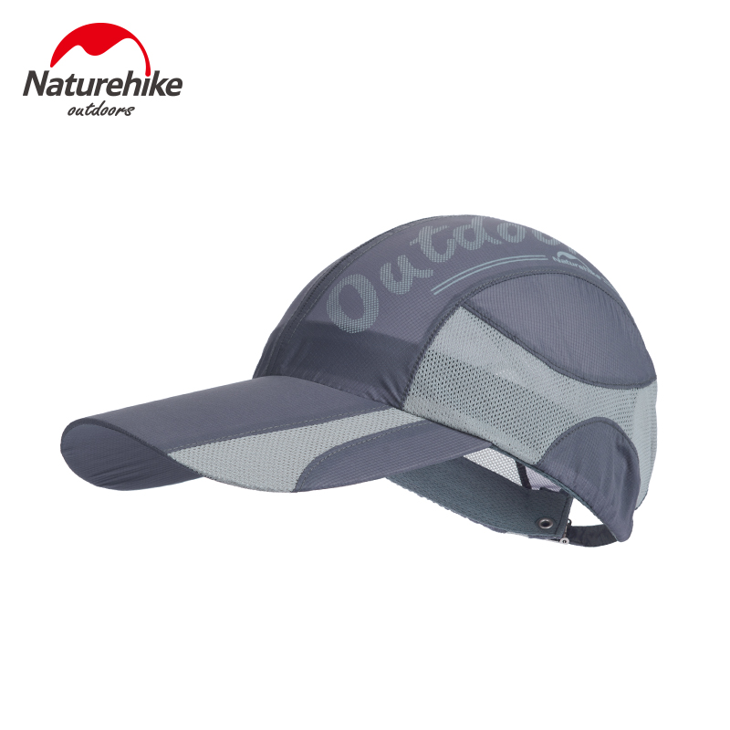Naturehike Summer Cap Outdoor Unisex Sun Hat Quick-dry Foldable Cap Topee Climbing Hiking Cap NH16M003-F baseball sun hat outdoor fashion printing sun hat summer sun protection quick drying cap unisex
