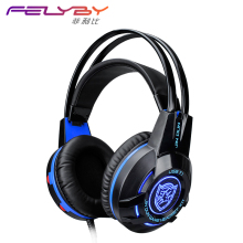 High Quality K1T. Fashion 7.1 USB Surround Stereo Vibrating Microphone Network Computer Games Professional Headphones