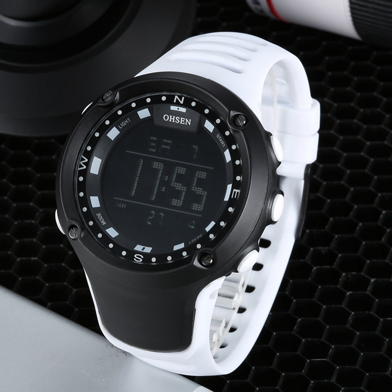 New arrival OHSEN brand fashion LCD Digital Mens watch