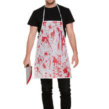 Halloween Novelty Bloody Apron Blood Splatter Halloween Horror Nurse Surgeon Dress Costume Set(China)