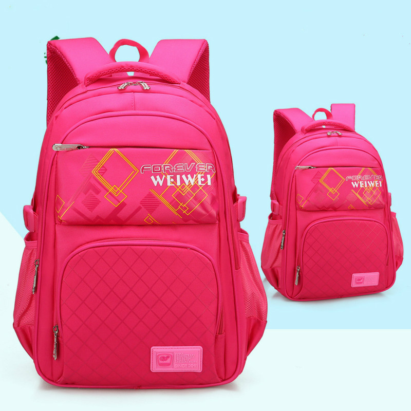 children School Bags boys kids satchel Primary school backpack for grils orthopedic scho ...