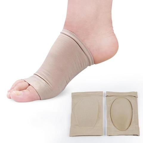 1 Pair Foot Elastic Arch Support Band Pads Feet Compression Massage Correction Insole For Men Women Foot Care Pakistan