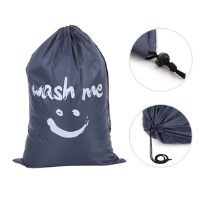 Image 5 - Organizer Bag Large Foldable Nylon Laundry Bag Dirty Clothes Storage Bag with Drawstring Closure for Home Laundromat Travel Bag
