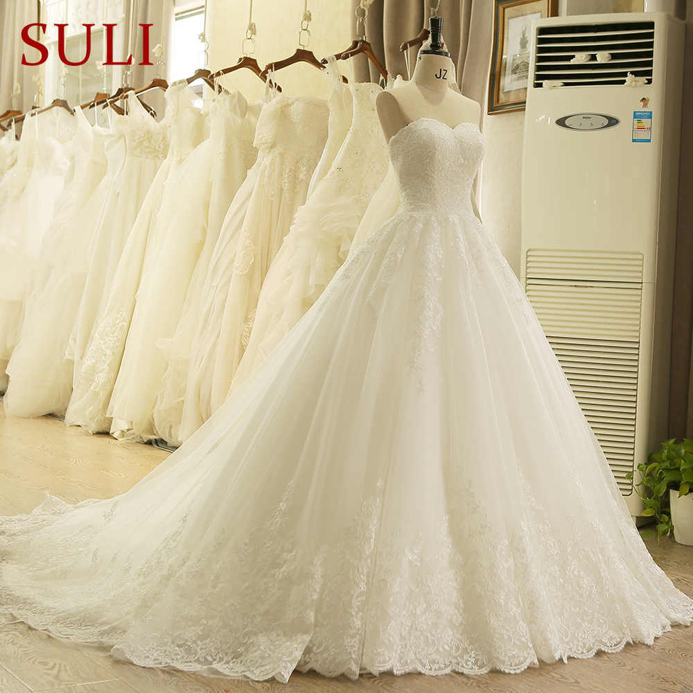 05bd88eadff ... HW091 Charming Sweetheart Applique Lace Vintage Bridal Wedding Dress  Princess Wedding Dresses Turkey ...