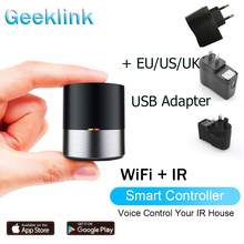 цены Geeklink Smart Home Remote Control For AC TV Air Conditioner Wifi APP Control for Amazon Alexa Google Home with US EU UK Plug