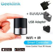 Geeklink Smart WIFI + ИК-контроль APP / Siri Пульт дистанционного управления AC TV Smart Controller