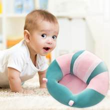 Sofa Support Seat Cover Baby Plush Chair Learn To Sit Comfortable Toddler Nest Puff Washable without Filler Cradle Sofa Chair(China)