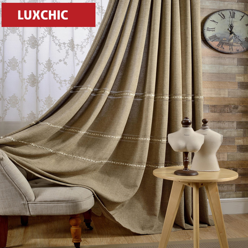 Luxchic Curtain Window Curtains For Living Room Bedroom