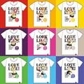 Love Live T-shirt Women Short Sleeve T-Shirt Female Cotton Ladies T Shirt Anime Kousaka Honoka Kotori Hanayo Nico Girls Clothing