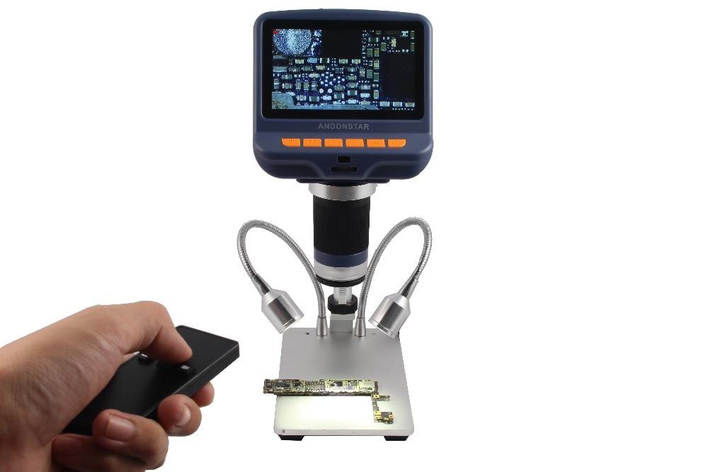 Andonstar Digital Microscope  for phone repair soldering tool bga smt jewelry appraisal biologic use kids gift