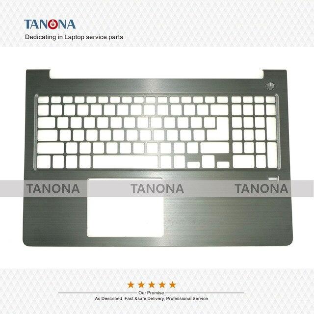 Original New For DELL Vostro 5568 Laptop Palmrest Upper Case Keyboard Keyboard Bezel W/ FP C Shell 0FCN57 FCN57 Black Housing