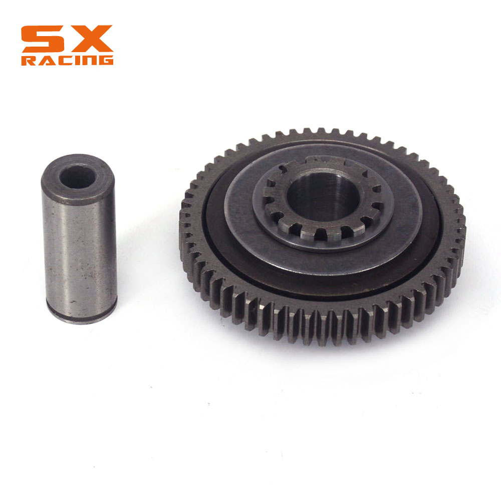 Motocross Double Gear Teeth For ZONGSHEN NC250 KAYO T6 K6 BSE J5 RX3 ZS250GY 3 4 Valves Parts set
