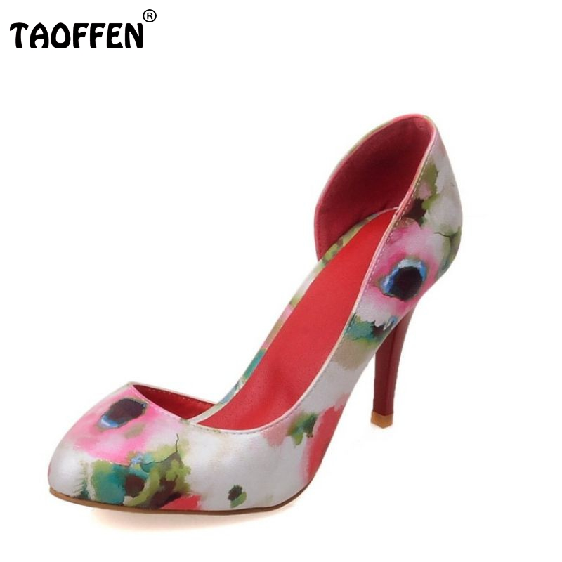 sexy thin high heels shoes women two piece pointed toe sandals floral party stiletto heeled footwear size 32-43 PA00037 2015 autumn thin heels high heeled shoes rhinestone hasp sexy cutout women s shoes pointed toe single shoes female sandals