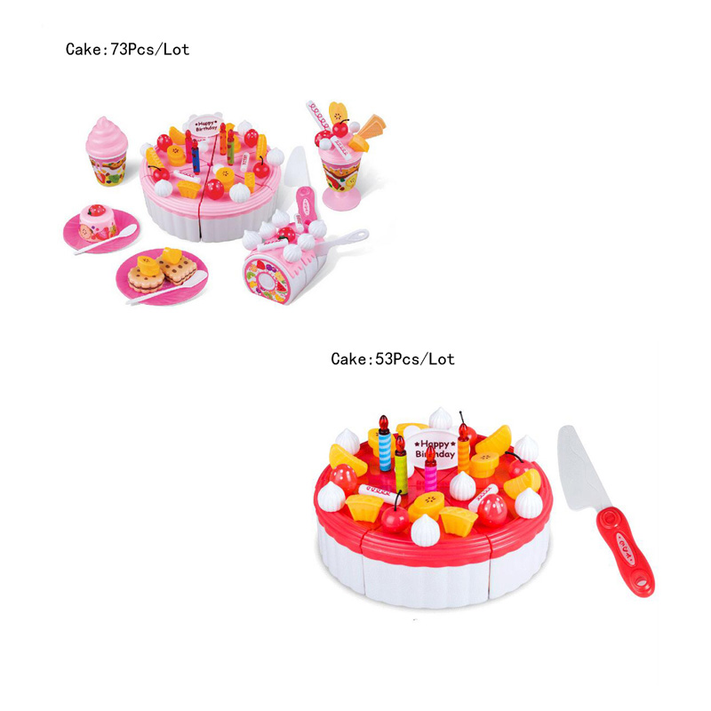 New childrens toys playing family cake toys for Christmas Birthday gift