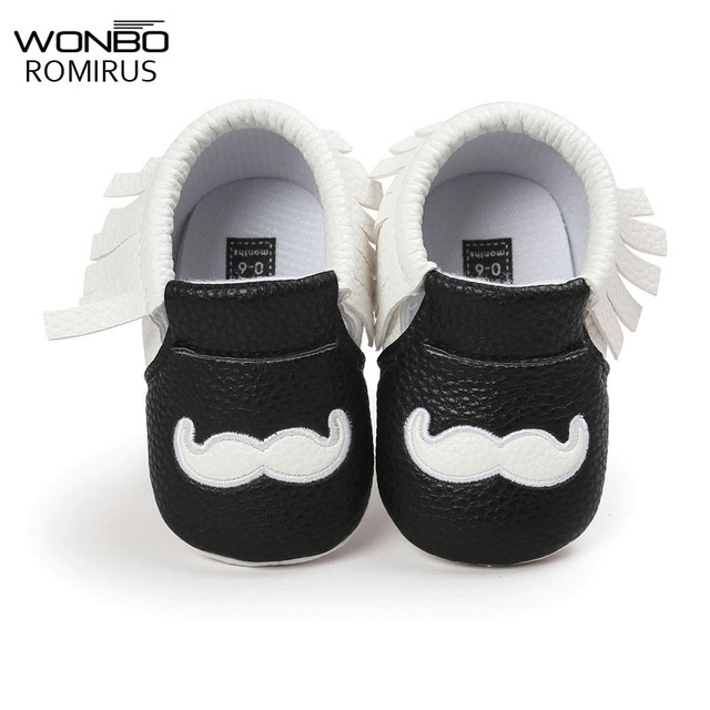 6d7795a67cec Baby Shoes Boys Girls Tassel Shoes Princess PU Leather Shoes Newborn Baby  Moccasins Love Papa Mama