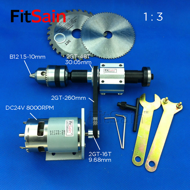 FitSain 2GT 1 3 775 B12 DIY bench saw spindle precision table saw transmission bearing seat