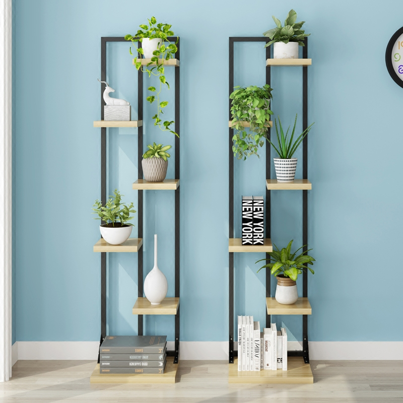 The living room bedroom flower shelf multi-layer crane shelf for floor type Flowerpot holder shelf