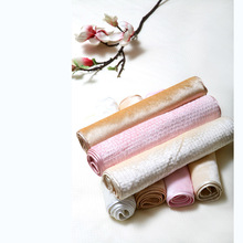 Silk Cut Velvet Waffle Beauty Towel Face 33x75cm Pink