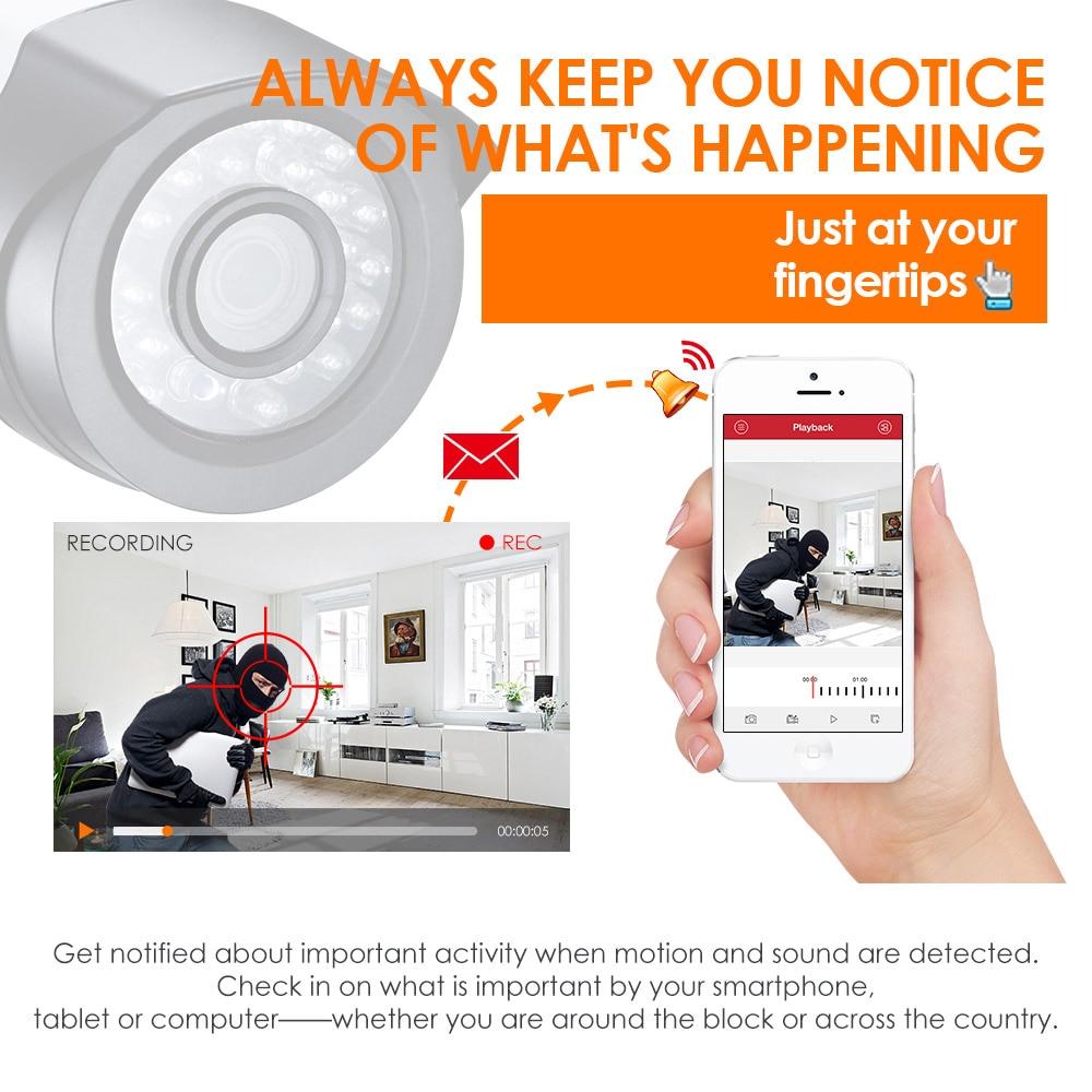 ZOSI 8CH 720P CCTV System 4IN1 1080N DVR 720P Uji i papërshkueshëm - Siguria dhe mbrojtja - Foto 6