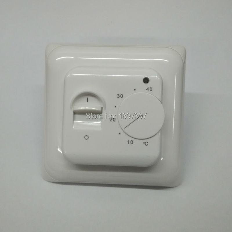 Meccanico termostato per il riscaldamento a pavimento 16A 230VAC ...