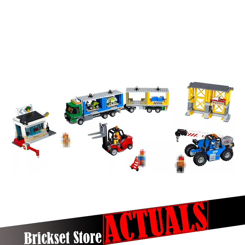 Lepin 02082 829Pcs City The Cargo Terminal Set DIY 60169 Building Blocks Bricks Educational toys for children Gifts brinquedos hot sale 1000g dynamic amazing diy educational toys no mess indoor magic play sand children toys mars space sand