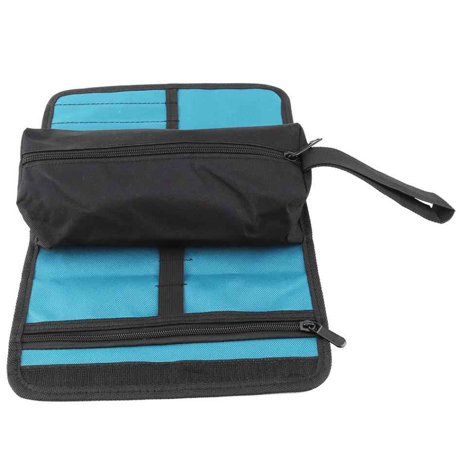 Usefull waterproof Oxford Cloth Bag for Tools Electrician Professional  Tool Storage Holder Roll Bag Convenient Organizer