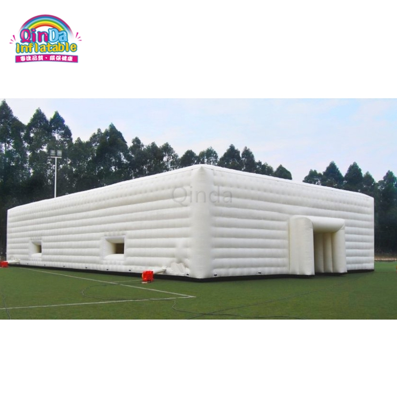 Commercial Lighting Hire: Commercial 20*20m Inflatable Marquee White Party Tent