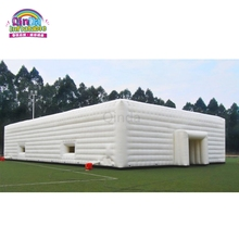 Commercial 20*20m Inflatable Marquee White Party Tent Lighting Inflatable Party Wedding Tent For Hire