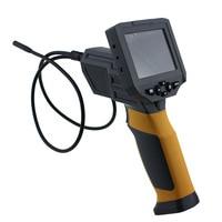 Ht 660 6 светодиодов Промышленные видео инспекционной Экспертиза: автомобили механический ремонт эндоскопа 8.5 мм Камера бороскоп 1 м длина тру