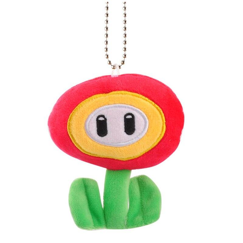 10pcs Super Mario brothers Super Mario red plush doll ornament dolls toy new