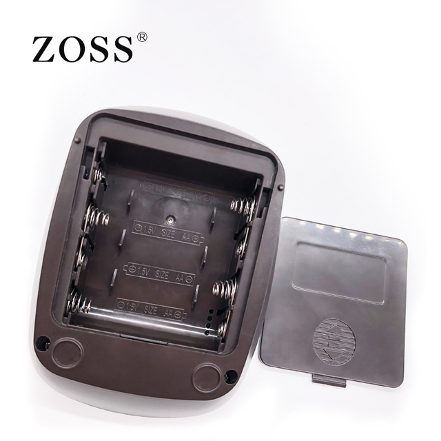 ZOSS latest models English or Russian Voice German chip LCD upper arm blood pressure monitor heart beat instrument tonometer 5