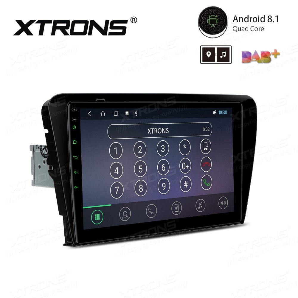 """Perfect 10.1"""" Android 8.1 OS Car Multimedia Navigation GPS Radio for Skoda Octavia 2014 2015 2016 with Split Screen Function Support 1"""