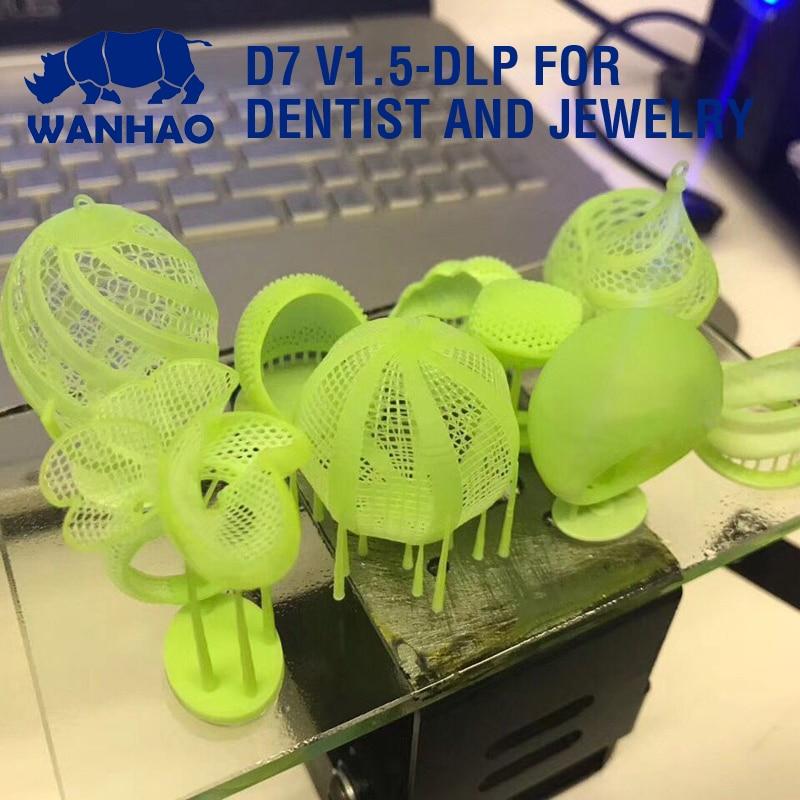2019 wanhao 3d impressora nova versão uv